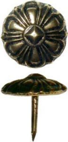 "Antique Copper Decorative Nail 3//4/"" fancy tack trunk chest steamer antique"
