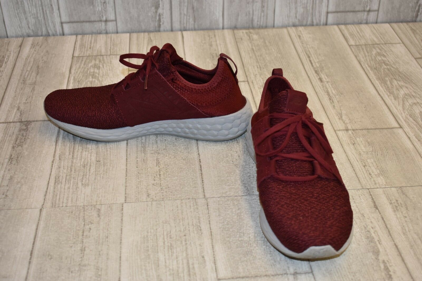 New Balance Fresh Foam Cruz v2 Knit Sneaker-Men's Size 11.5 Maroon