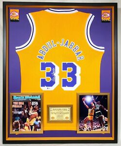 d0d6f660021 Image is loading Premium-Framed-Kareem-Abdul-Jabbar-Signed-Los-Angeles-