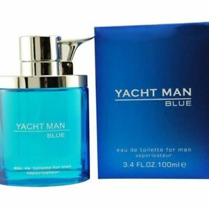 YACHT MAN BLUE by Myrurgia cologne EDT 3.3 / 3.4 oz New in Box