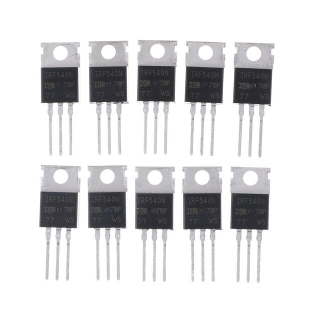 10PCS IRF540N IRF540 TO-220 N-Channel 33A 100V Power Mosfet_NE