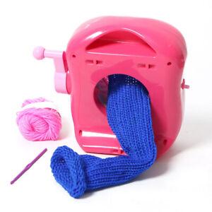 Mini-Knitting-Machine-Scarf-Hat-Sock-Hands-on-Weaving-Loom-Knitter-Kid-Toys
