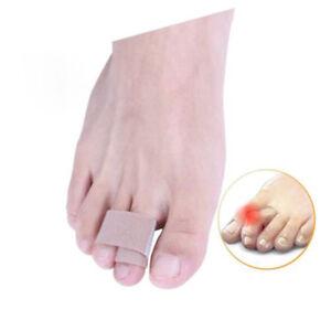 5-Pcs-Broken-Hammer-Toe-Straightener-Splints-Brace-Corrector-Wraps-Bandage