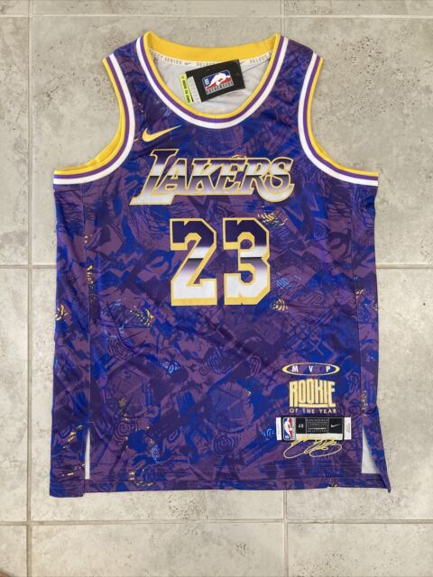 Nike Los Angeles Lakers Lebron James #23 2021 MVP Authentic Jersey ...