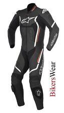 New Alpinestars Motegi V2 Leather 1PC one Piece Motorcycle Race Suit Black/Red