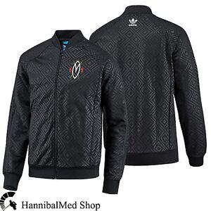 Détails sur ADIDAS Originals dikembe Mutombo Home Superstar Noir Congo G92035 Men's jacket afficher le titre d'origine