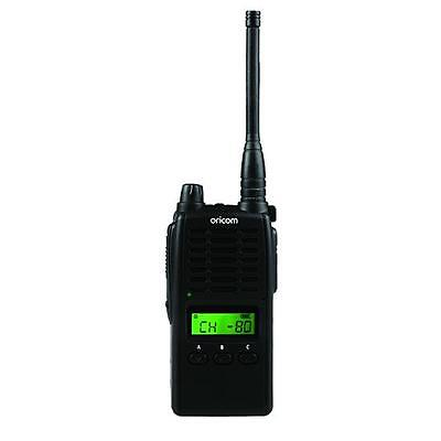 ORICOM UHF5500-1 5 WATT SINGLE PACK 80 CH HANDHELD UHF CB RADIO+NEW+WTY