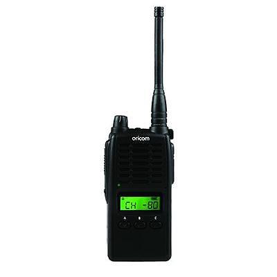 ORICOM UHF5500-1 5 WATT SINGLE PACK 80 CH HANDHELD UHF CB RADIO+NEW+WTY