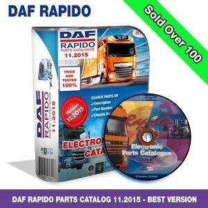 trailers parts catalogue DAF RAPIDO 11.2015 parts catalogue