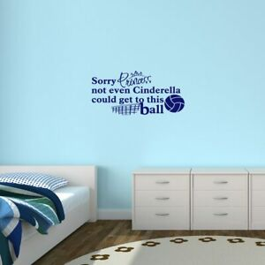 Super Details About Sorry Princess Volleyball Wall Decal Sports Teams Girls Teens Bedroom Download Free Architecture Designs Barepgrimeyleaguecom