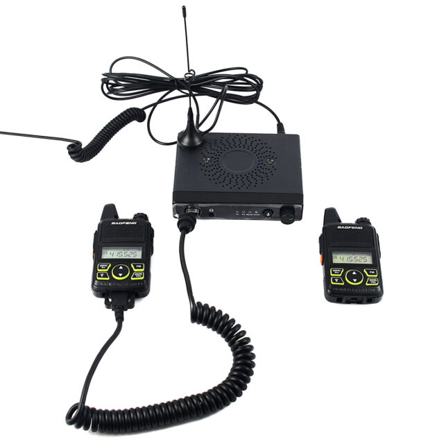 Baofeng MINI Mobile Car Radio 15W Power Output UHF 400-420MHz Two Way Radios