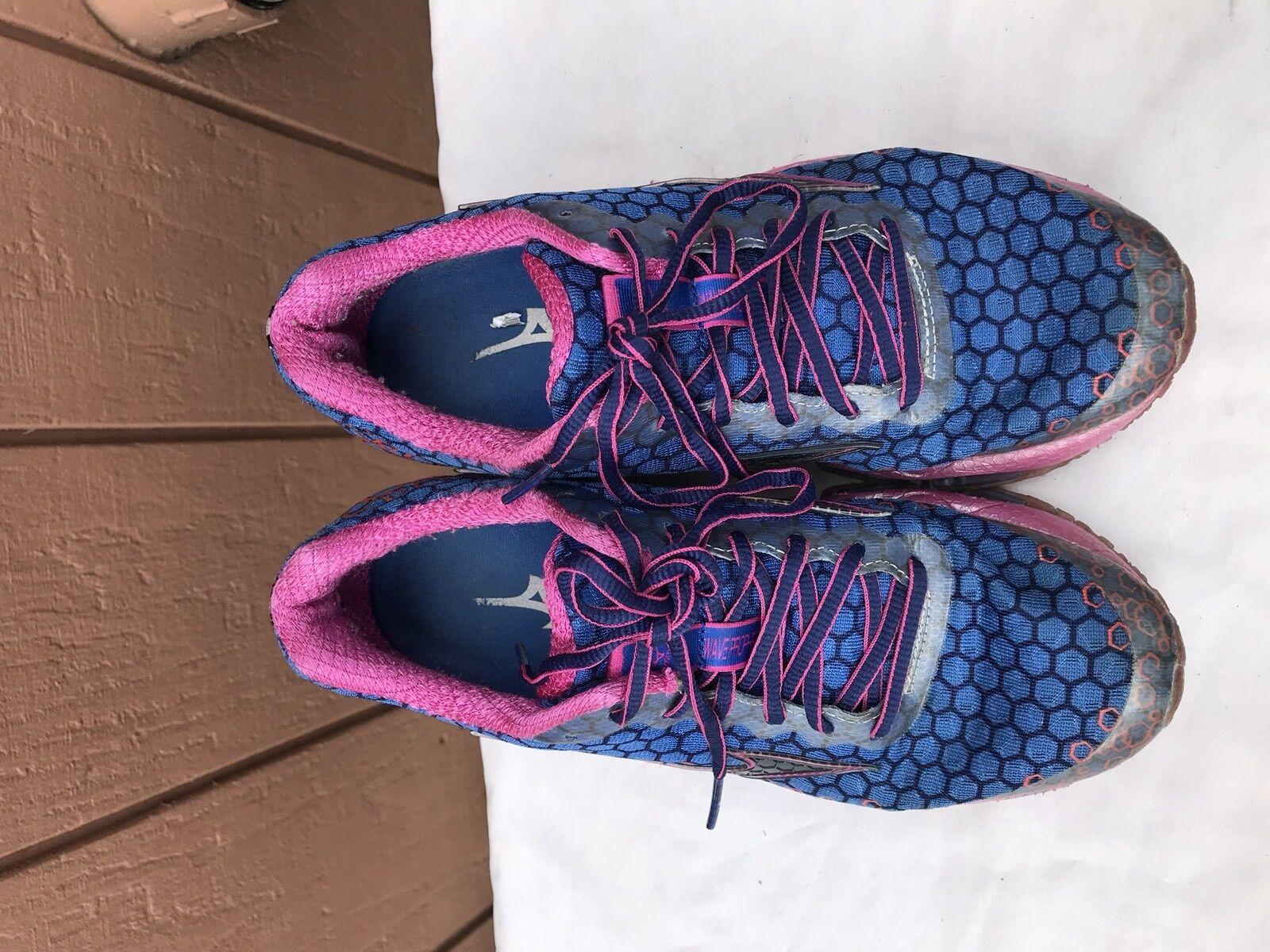 EUC Mizuno Wave Prophecy 3 bluee Pink Women's Women's Women's US 7.5 Running shoes Sneakers 302115