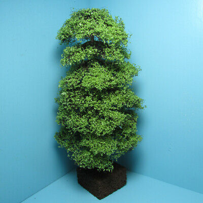 "Dollhouse Miniature Beautiful Outdoor 8/"" Light Green Oak Landscape Tree CA3532"