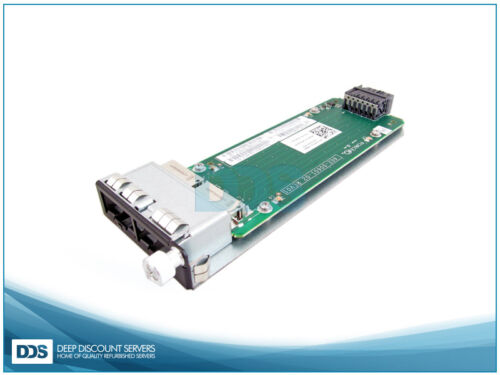 New Open Box Dell S60-12G-2ST 2Port 12Gb//s Stacking Module
