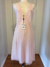 NWT Giorgio Armani Ballerina Pink Dress With Plunging Neckline Size 46 (12)