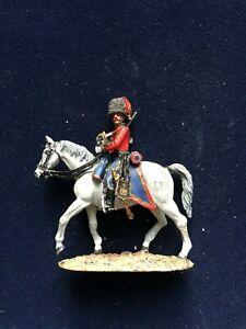 SOLDAT-DE-PLOMB-CAVALIER-EMPIRE-OFFICIER-HUSSARD-CORPS-DE-KELLERMAN-1805