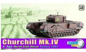 Dragon-60503-1-72-Brit-Churchill-Mk-Iv-North-Irish-Horse-Tunisia-1943-Neu