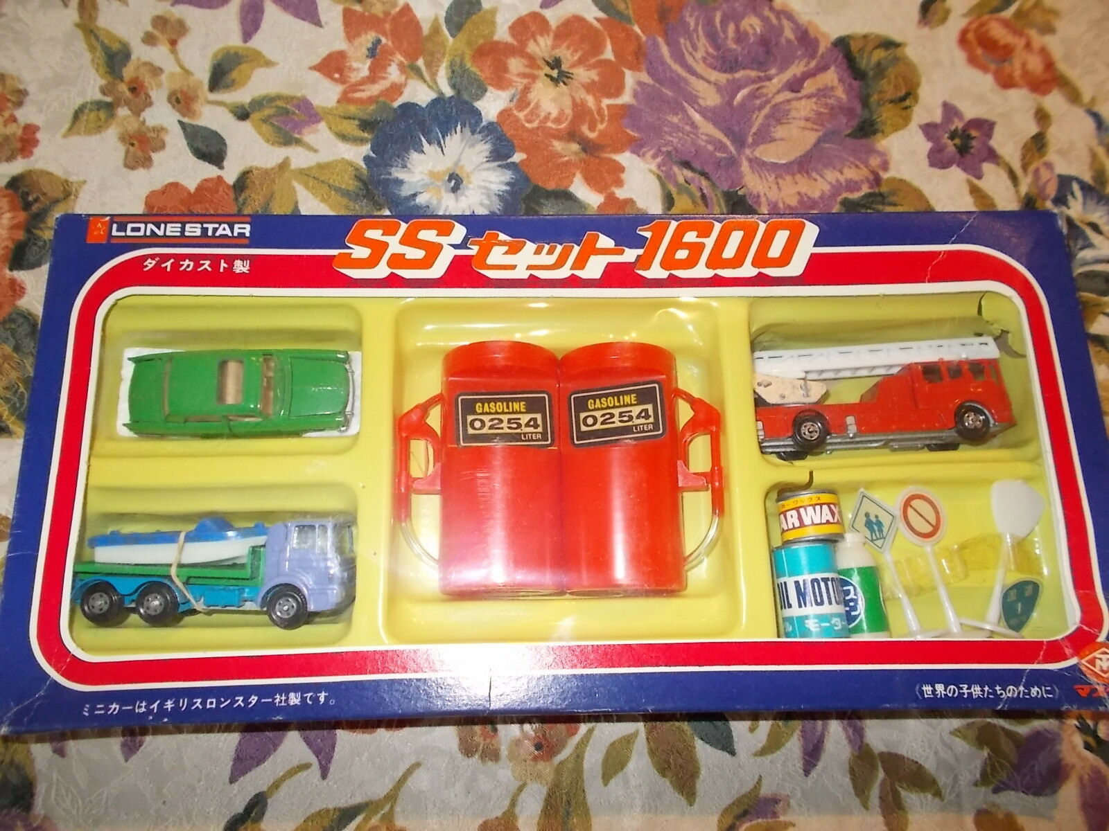 Very Rare Lone Star Flyers Set SS 1600 with Peugeot 404