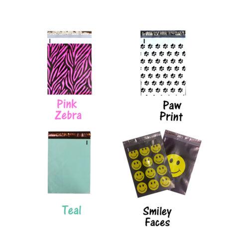 "USPS New Envelopes! 10/"" x 13/"" ShipNFun Designer FLAT POLY Mailers 20-200 Pack"