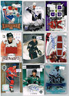 HUGE Lot Of 2007-08 Autos - Game Used - Rookies - Parallels - Inserts - Base