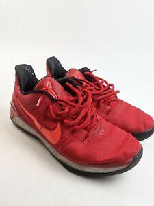 Nike Kobe A D University Red Black Shoes Mamba 852425 608 Mens Size 14 Ebay