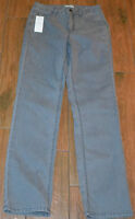 Laura Ashley Size 6 Grey Denim Jeans With Stones & Top Stitching On Pockets