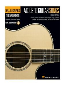 Acoustic Guitar Chansons Supplement To Any Guitar Method Learn To Play Music Book-afficher Le Titre D'origine 4mu9bg1v-07160826-243295977