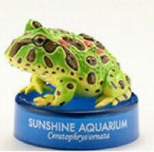 Kaiyodo Sunshine AQUARIUM Exclusive Green Horned Frog Toad PVC Figurine SP item