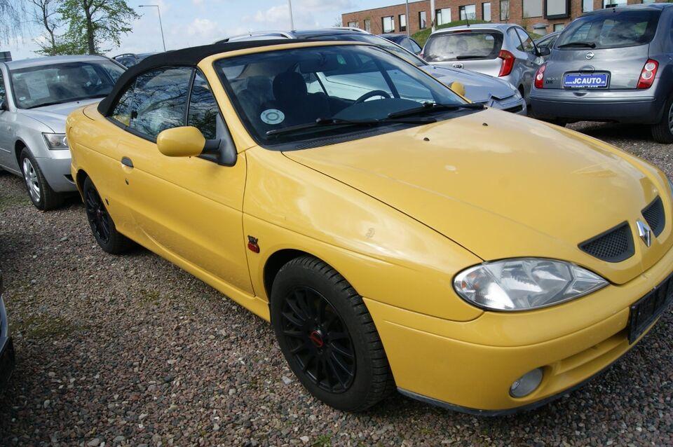 Renault Megane I 1,6 16V RXi Cabriolet Benzin modelår 1999