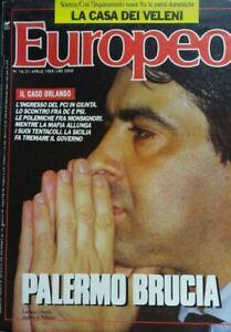 EUROPEO N.16 1989 LEOLUCA ORLANDO