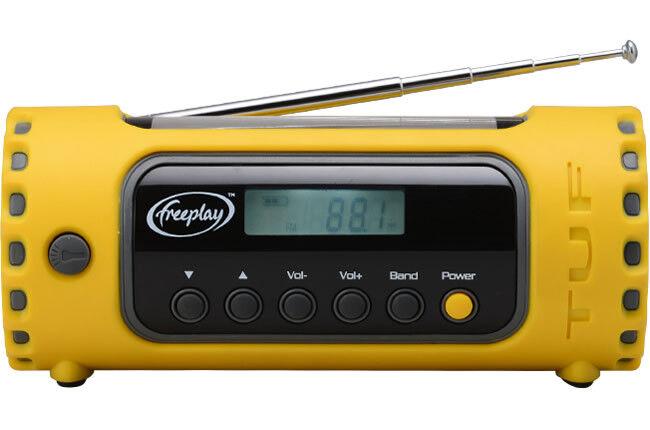 Freeplay TUF Solar & Wind-Up Radio & Torch - GorillaSpoke, Free P&P Worldwide