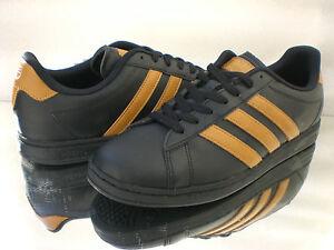 Dettagli su Originals Adidas Derby NEO Sneakers Scarpe da Ginnastica NeroMarrone q26244 NUOVO mostra il titolo originale