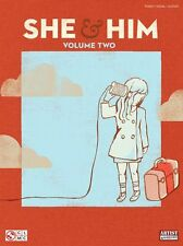 She & Him Zooey Deschanel and Matt Ward Learn to Play Piano PVG Music Book