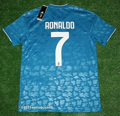 Adidas Men's RONALDO Juventus 3rd Soccer Jersey, DW5471, Unity Blue, Sizes | eBay