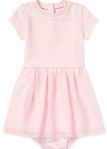 NWT Ralph Lauren Polo Baby Girls Pointelle Top /& Tulle Skirt