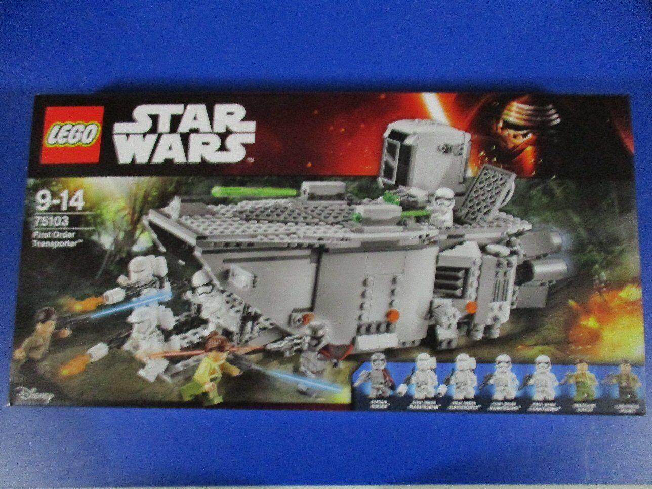 Lego Star Wars 75103 First Order transporteur Nouveau neuf neuf neuf dans sa boîte f4f805