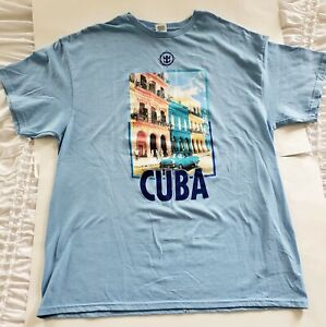 CUBA-T-SHIRT-MEN-039-S-SZ-XL-NEW