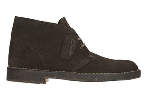 Claprks Originals Desert Boot Brown Suede Men's Lace up RRP £94.99 *BNWT*
