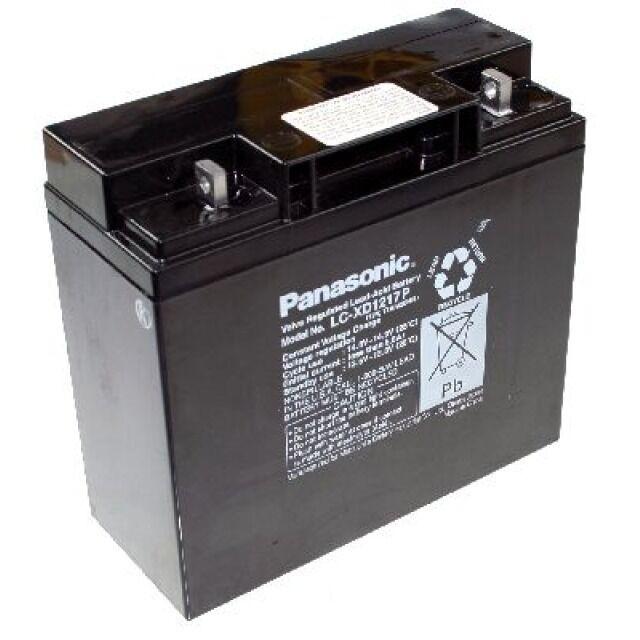 Panasonic Industrial  LC-XD1217PG 12V 17000mAh M5 Schraubanschluss