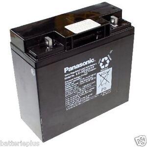 Panasonic Industriale LC-XD1217PG 12V 17000mAh M5 Chiusura a vite