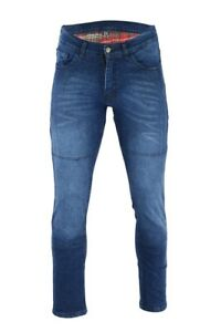 Womens-Black-Tab-Motorcycle-97-Slim-Fit-BLUE-Faded-Protective-Kevlar-Lined-jeans