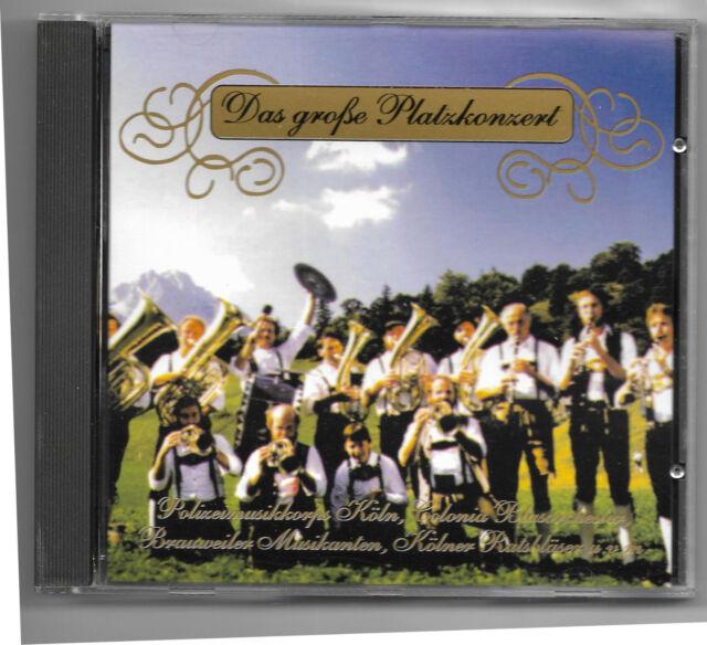 Verkaufe CD Das große Platzkonzert