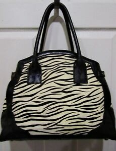 Image Is Loading La Gioe Di Toscana Zebra Print Calf Hair