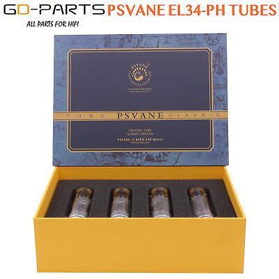 Matched Quad Psvane El34ph Philips Holland Replica Vacuum Tube El34
