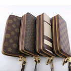Classic Women Clutch buckle Soft Leather Wallet Lady Long Card Purse Handbag New