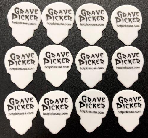 12 pics SKULLS 12 pcs Skull Shaped Guitar Picks Grave Picker Hot Picks