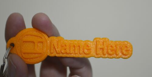 Personalised Honda Rubber Keyring Tags Novelty Keychain 3D  Key Fob Key Ring