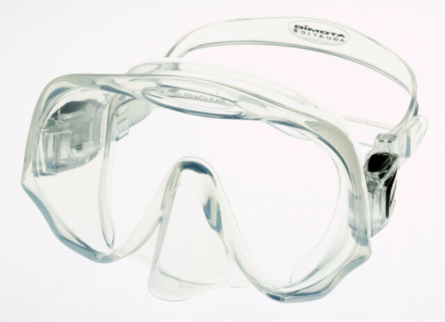 Atomic Frameless UltraClear Dive Mask for FreeDiving Scuba Snorkeling Clear