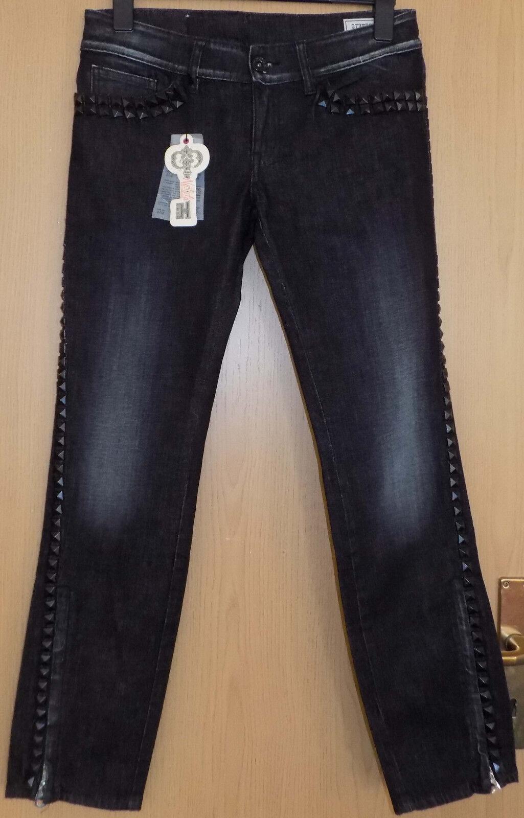 NEU ITALY sehr schöner elegante Damen Jeans Hose NO-L-ITA Gr. 30 Neupreis