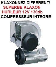 VOTRE BATEAU DIFFERENT KLAXON HURLEUR CHROME 130db MONTAGE 5mn COMPRESSEUR INLCU